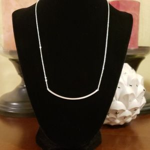 NEW...Slate Brand Monroe Necklace in Silver